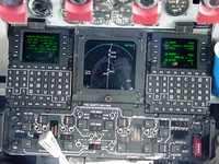 C-135 lower center console