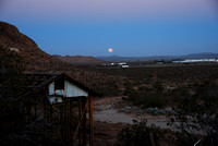 Moonrise Over Edwards